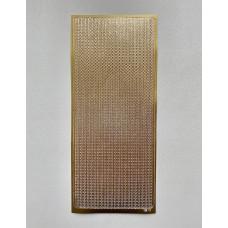 Наклейка контурная №1913, Жемчуг (Золото)
