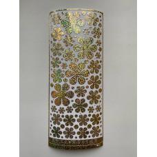 Наклейка контурная №4039, Полевые цветы большие голография (Золото)