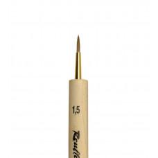 Miniature K1 №1,5 Кисть круглая из волоса колонка