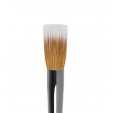 dd12 Кисть круглая из волоса синтетики и коричневой козы