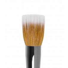 dd20 Кисть круглая из волоса синтетики и коричневой козы