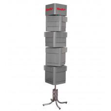 S-0009 Напольный стенд из вращающихся блоков
