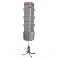 S-0017 Напольный стенд из вращающихся блоков
